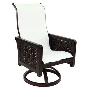 Spanish Bay Sling Swivel Rocking Chair