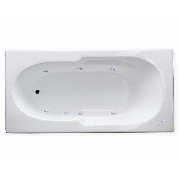 Magic Bath Baby Jacuzzi.Hygienic Aqua Massage 72 X 36 Whirlpool Bathtub