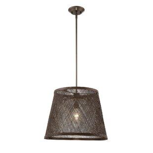 Bay Isle Home Sigala 1-Light Cone Pendant