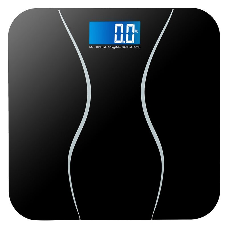 Electronic Lcd Bathroom Weighing Scale