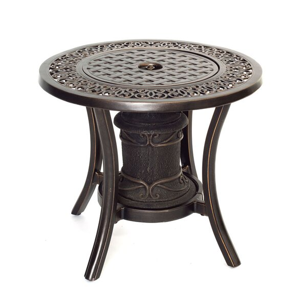 Hanover Aluminum Propane Outdoor Fire Pit Table U0026 Reviews | Wayfair