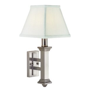 Look for 1-Light Armed Sconce By House of Troy