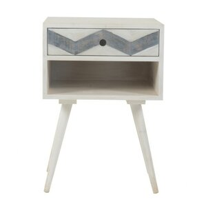 Charmain Square Mango End Table by Bungalow Rose