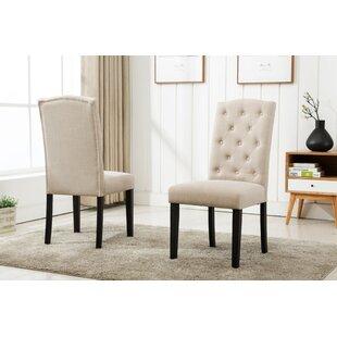 Cendrillon Upholstered Dining Chair (Set ..