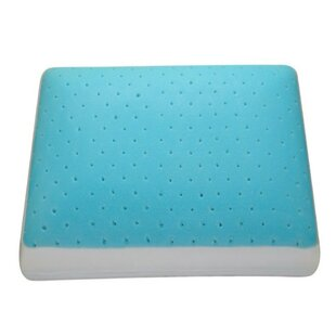 Augie Medium Gel Memory Foam Queen Pillow