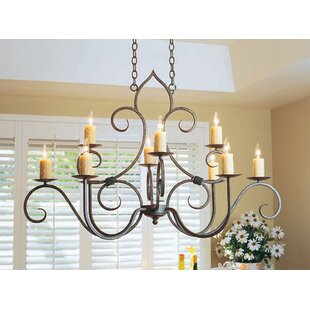 2nd Ave Design Clifton Oval 10-Light Chandelier