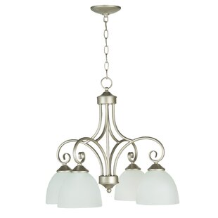 Compare Ora 4-Light Shaded Chandelier By Fleur De Lis Living