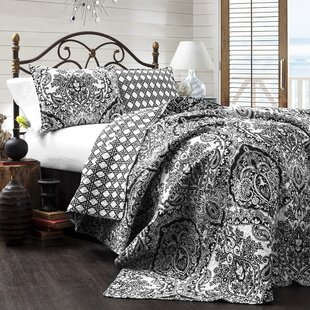 Jeske 3 Piece Reversible Coverlet Set