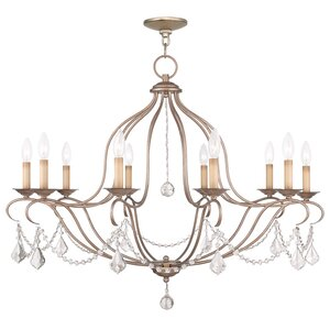 Bayfront 10-Light Candle-Style Chandelier