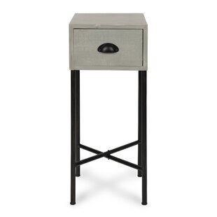 Varian Wood Side End Table by Gracie Oaks