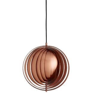 Spurling 1-Light Globe Pendant by Orren Ellis