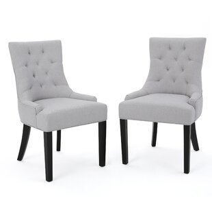 Grandview Side Upholstered Dining Chair (Set of 2)  sc 1 st  Wayfair & Most Comfortable Dining Chairs | Wayfair