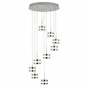 Orren Ellis Gales 9-Light LED Cluster Pendant