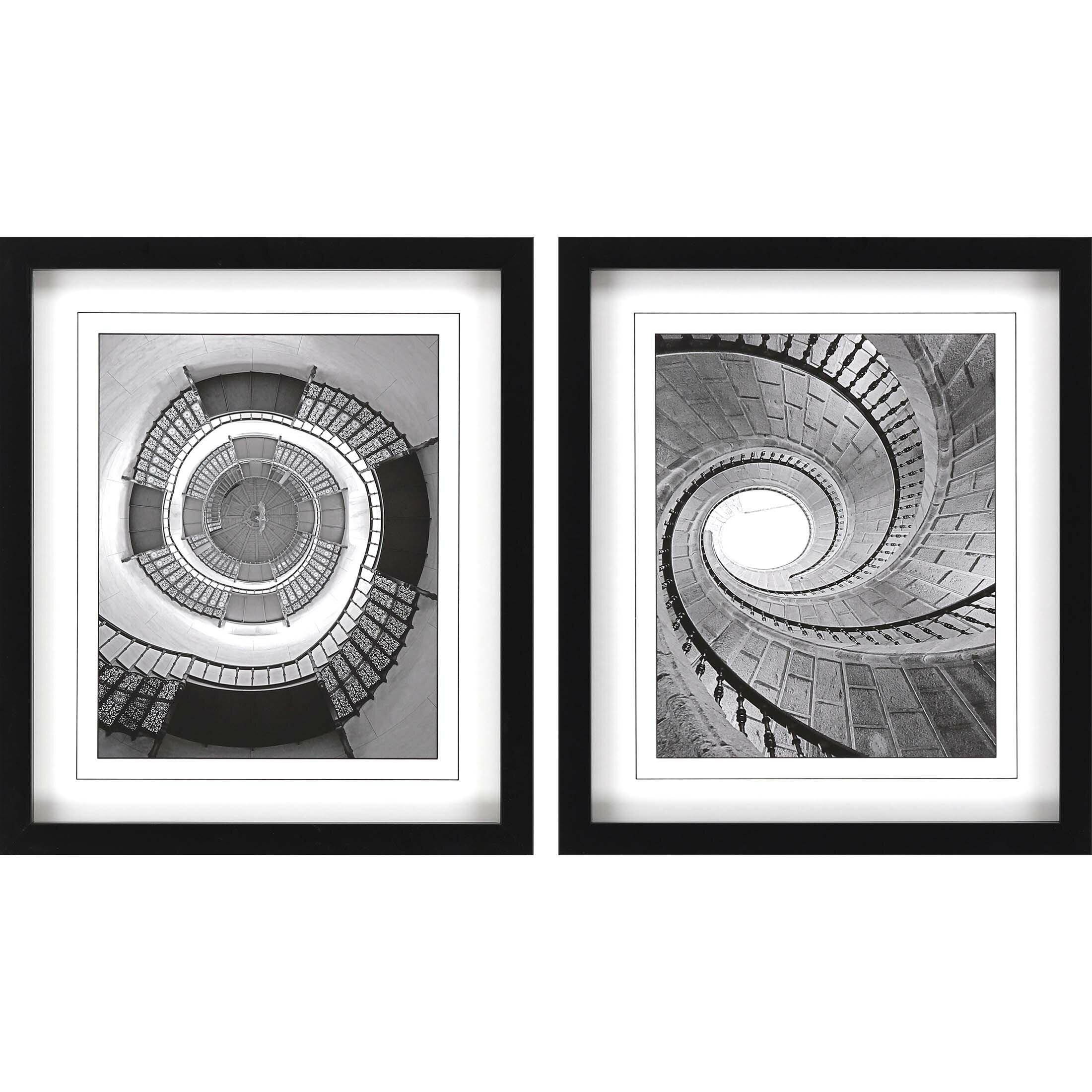 Latitude Run Winding Down Ii 2 Piece By Langdon Picture Frame Print Set On Paper Wayfair