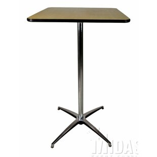 Elite Wood Table With Adjustable Post