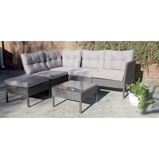 Purchase Jarrett 6 Piece Sectional Set with Cushions Great buy