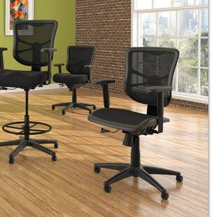 Latitude Run Krajewski Mid-Back Swivel/Tilt Mesh Office Chair