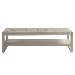 Gracie Oaks Rimini Wood Bench