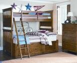 Bryce Canyon Standard Bunk Bed with Storage Unit by LC Kids