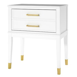 Westerleigh 1 Drawer Nightstand by CosmoLiving by Cosmopolitan