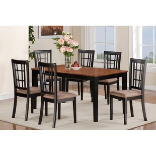 Pillar 7 Piece Extendable Dining Set August Grove