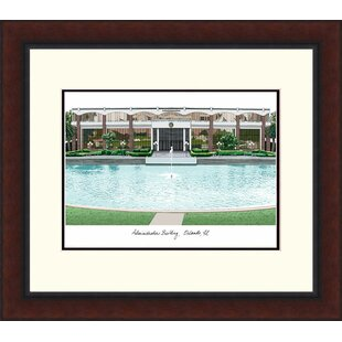 NCAA Central Florida Knights Legacy Alumnus Lithograph Picture Frame By Campus Images