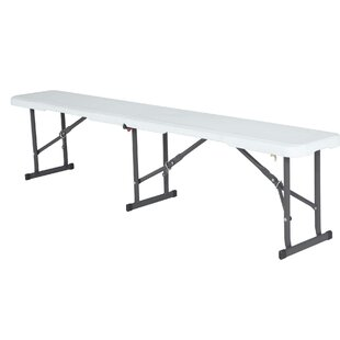 Steel And Plastic Bench By Lifetime