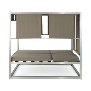 Orren Ellis Lisa Patio Daybed with Cushions