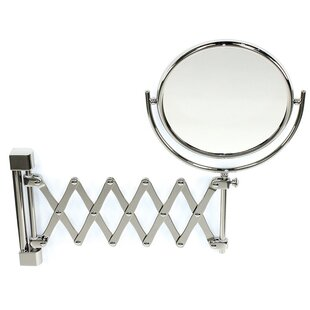 Order Wall Mounted Extendable Double Face Magnifying Mirror By Windisch by Nameeks