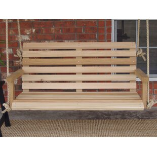 Tara Cedar Rope Porch Swing