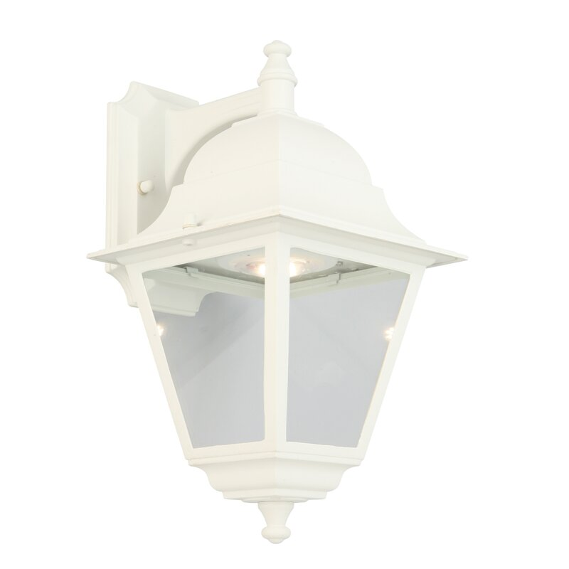 Alcott Hill Penkridge Colonial Led Outdoor Wall Lantern Wayfair