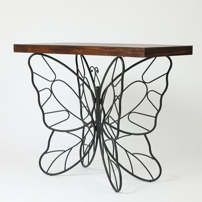 Shiela Butterfly Console Table
