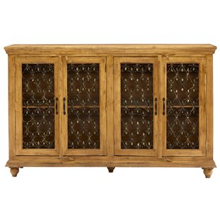 Find the perfect Elliott Bay 4 Door Accent Cabinet ByDarby Home Co