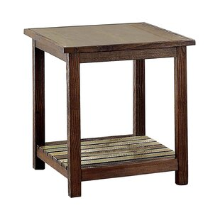 Alexa End Table by Gracie Oaks