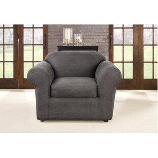 Ultimate Stretch Box Cushion Armchair Slipcover