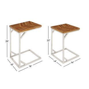 Westall Rustic 2 Piece Nesting Tables