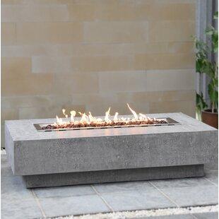 Budget Hampton Outdoor Concrete Fire Pit By Elementi