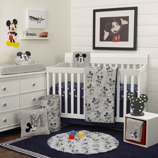 Disney Mickey Mouse Nursery 6 Piece Crib Bedding Set