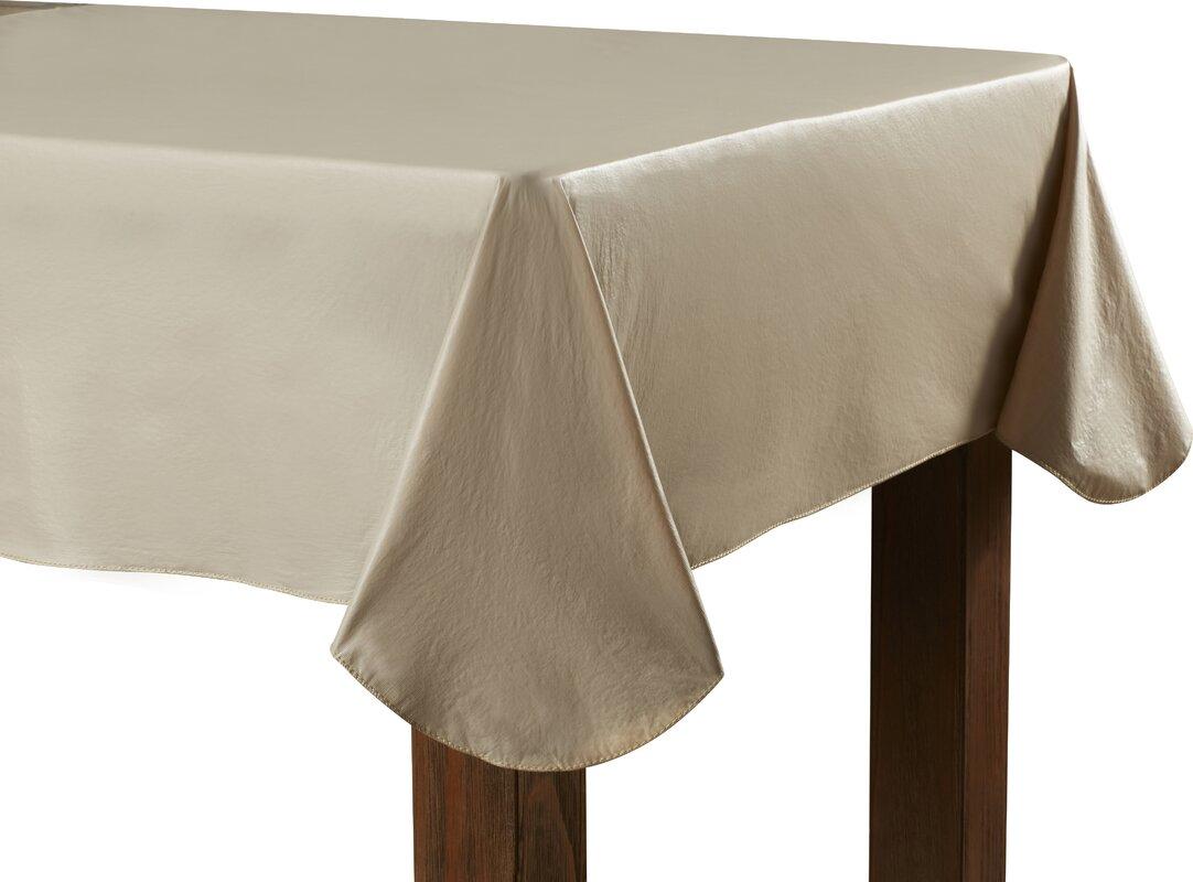 Elegant Vinyl Flannel Backed Tablecloth