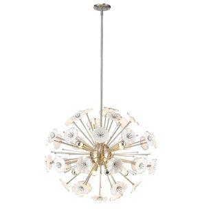 Bungalow Rose Appalachian 8-Light Globe Chandelier