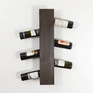 Benbrook 6 Bottle Wall Mounted Wine Rack Best Choices