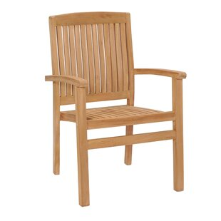 Eluemunor Stacking Garden Chair (Set Of 4) Image