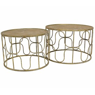 Hilaria 2 Piece Coffee Table Set By Bloomsbury Market