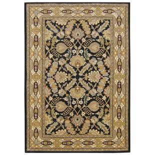 Best Reviews Hand-Tufted Brown/Black Area Rug ByThe Conestoga Trading Co.