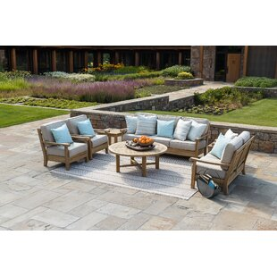 August Grove Chasity Deep Seating Group with Sunbrella Cushions