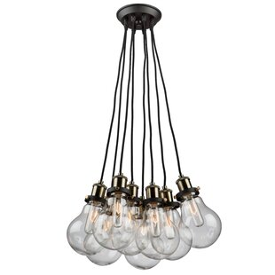 Rufina 8-Light Cluster Pendant by Williston Forge