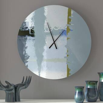 Trademark Home Collection Double Ring 14 Wall Clock Reviews Wayfair