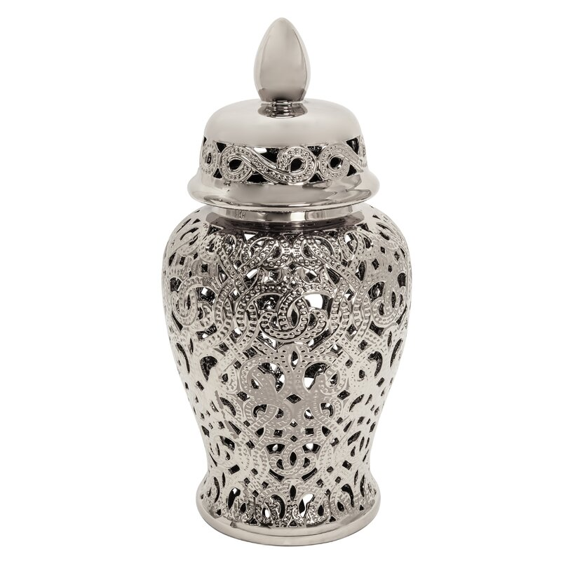 Bloomsbury Market Bonaire 24 Indoor Outdoor Ceramic Jar Reviews Wayfair