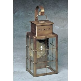 Breakwater Bay Wildes 1-Light Outdoor Wall Lantern