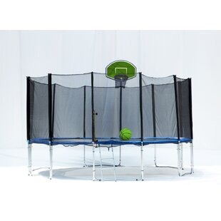Exacme 16' Round Trampoline with Safety Enclosure